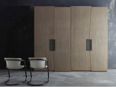 Sectional wardrobe with drawers ZERO.16 | Wardrobe