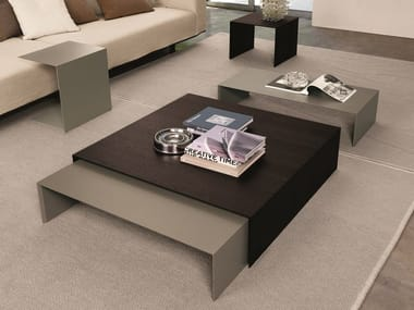 Lacquered aluminium coffee table ZEROCENTO | Coffee table