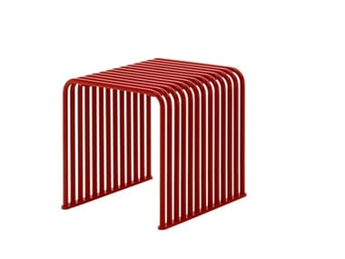 Metal stool ZEROQUINDICI.015 - CUBE