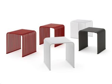 Metal stool ZEROQUINDICI.015 - CUBE
