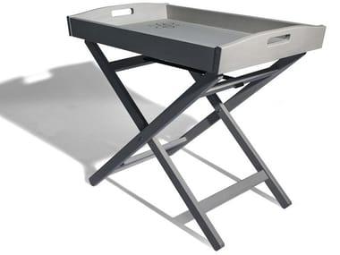 Table basse pliante en hêtre avec plateau ZEUS