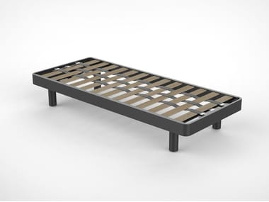 Cama simple de metal para hoteles ZEUS GM 01