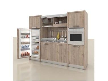 Mini cozinha com puxadores ZEUS K136
