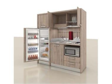 Mini kitchen with handles ZEUS K162