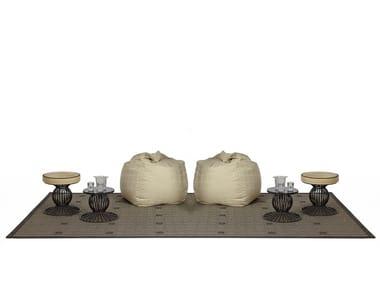 Technical fabric outdoor rugs ZIBAL | Outdoor rugs