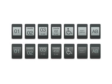 Numerazione per posti a sedere