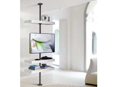 Supporto per monitor/TV in metallo da soffitto DOMINO | Supporto per monitor/TV