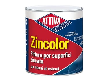 Pittura per superfici zincate ZINCOLOR
