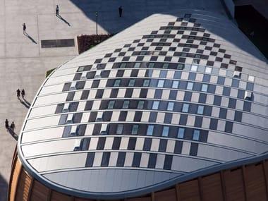 Continuous metal laminate for roof zintek®