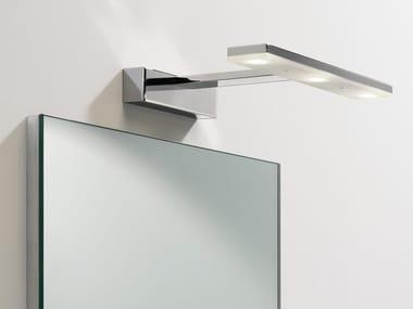 Lampe à miroir à LED orientable en acier ZIP