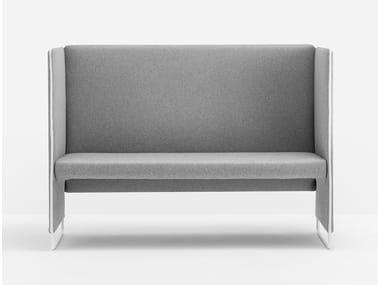 2 seater high-back sofa ZIPPO ZIP2P/140