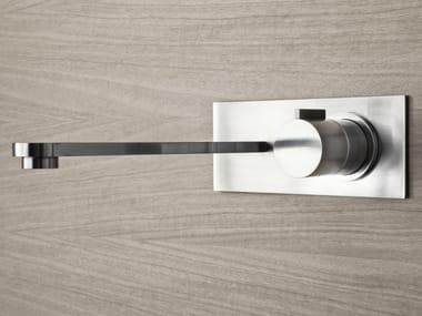 2 hole wall-mounted washbasin tap ZIRMA | Wall-mounted washbasin tap