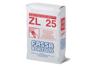 Intonaco di lisciatura a base di calce e gesso ZL 25