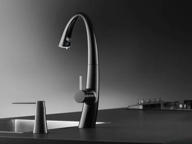 Chrome-plated countertop kitchen mixer tap KWC ZOE | Kitchen mixer tap