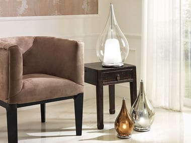 Direct light blown glass table lamp ZOE | Table lamp