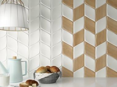 White-paste wall tiles ZOOM