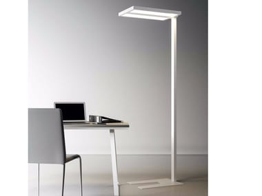 LED direct-indirect light floor lamp ZURIGO 8470 D-I