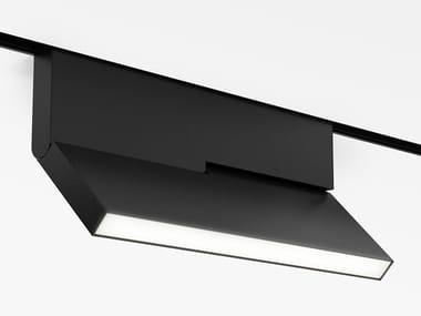 Illuminazione a binario in alluminio anodizzato °KNICK