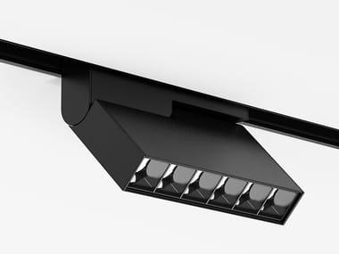 Illuminazione a binario in alluminio anodizzato °KNICK SMALL