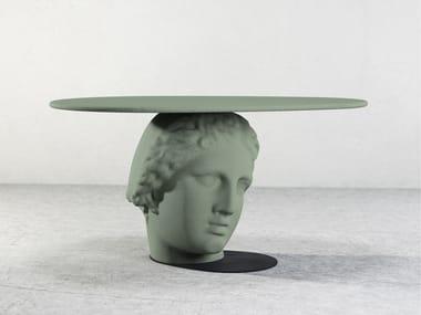 Concrete coffee table BETTI TABLE II