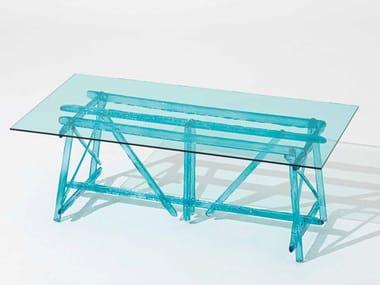 Tavolo da esterni rettangolare in policarbonato A'MARE   Tavolo da esterni