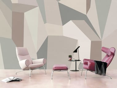 Wall tiles / wallpaper GEOMETRIA CUBISTA