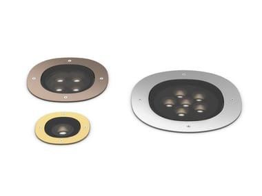 LED adjustable recessed Outdoor spotlight A-ROUND