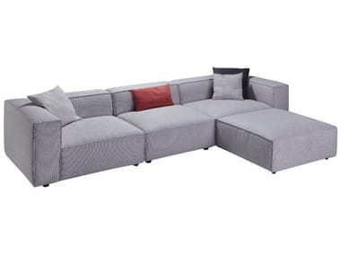 Sectional polyester sofa A53-2 | Sofa