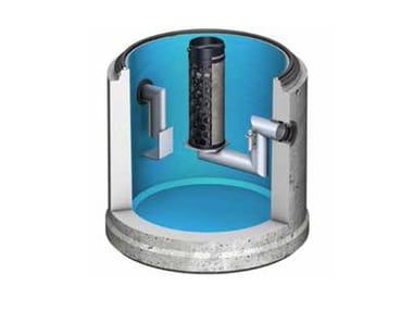 Oil separator, de-oiler and grease separator ACO Oleopator C