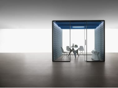 Acoustic meeting pod C-SS | Acoustic office booth