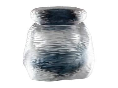 Handmade blown glass vase ACQUA NATSUMECHE