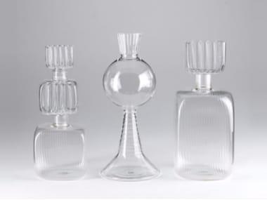 Borosilicate glass vase ACQUA
