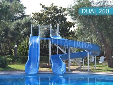 Rapid water slide WATERSLIDE DUAL260