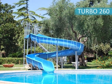 Rapid water slide WATERSLIDE TURBO260