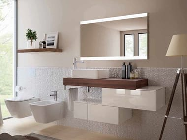 Sectional vanity unit ADAPTO | Vanity unit