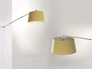 Wall lamp with swing arm ADJUSTABLE