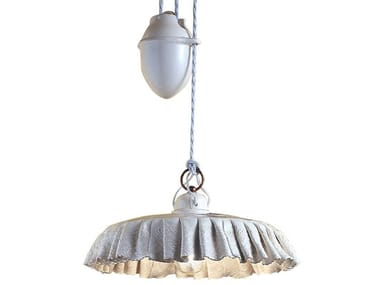 Adjustable ceramic pendant lamp MODENA | Adjustable pendant lamp