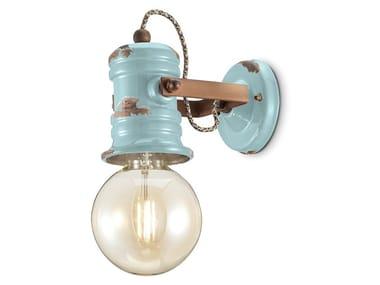 Wall-mounted adjustable ceramic spotlight URBAN | Adjustable spotlight