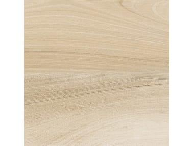 Pavimento in gres porcellanato effetto legno AFROMOSIA AVORIO