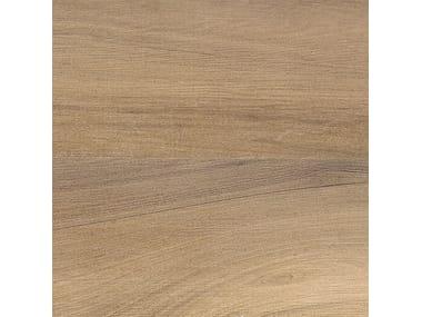Pavimento in gres porcellanato effetto legno AFROMOSIA ECRU