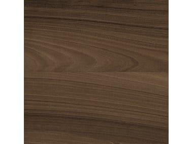 Pavimento in gres porcellanato effetto legno AFROMOSIA INTENSO