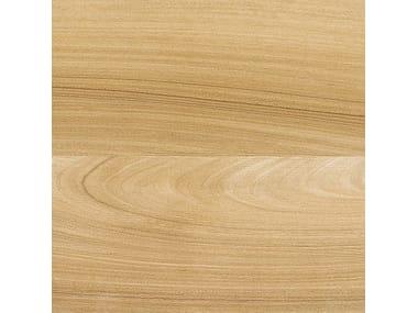 Pavimento in gres porcellanato effetto legno AFROMOSIA MIELE