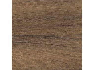 Pavimento in gres porcellanato effetto legno AFROMOSIA MORO