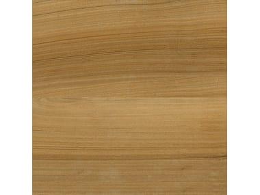 Pavimento in gres porcellanato effetto legno AFROMOSIA TABACCO