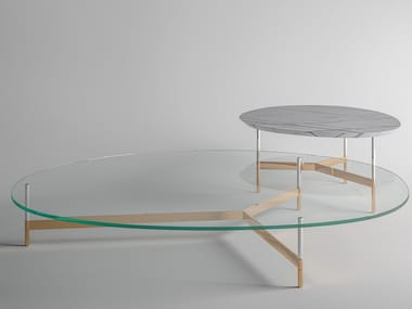 Coffee table with glass top AFTER9   Glass coffee table