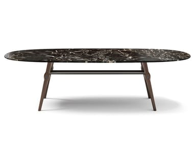 Oval marble table AGO | Marble table