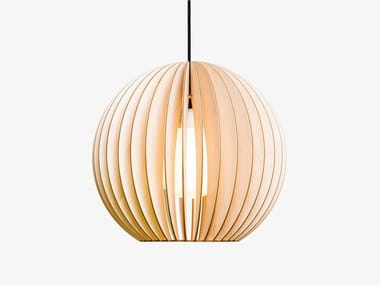 Plywood pendant lamp AION