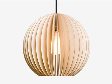Plywood pendant lamp AION L