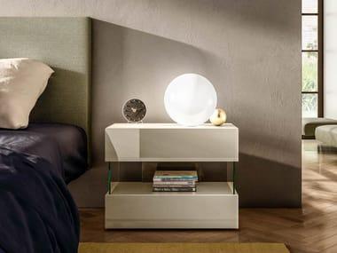 Mesa-de-cabeceira com gavetas AIR 0770 | Mesa-de-cabeceira