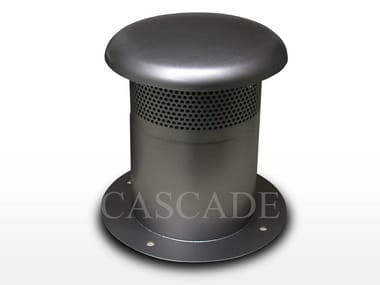Accessory for fountain Air intake for technical rooms